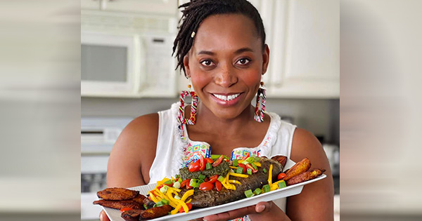 Mirabel Umenei, founder of Motherland Cooking Xperience